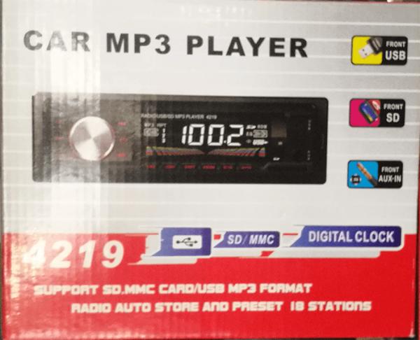 FM Радио и Mp3 плеер за автомобил