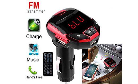 FM Mp3 модулатор за во автомобил со Bluetooth
