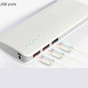 Дигитален power bank уред со 3 USB излези