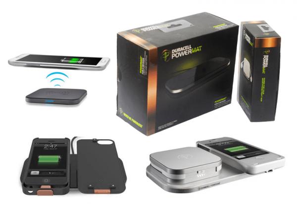 Бежичен полнач за смартфони (Wireless charger) Duracell