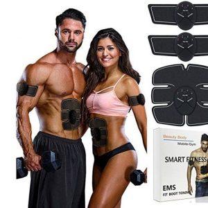 Комплет фитнес електро-стимулатор (стомак, раце и нозе)