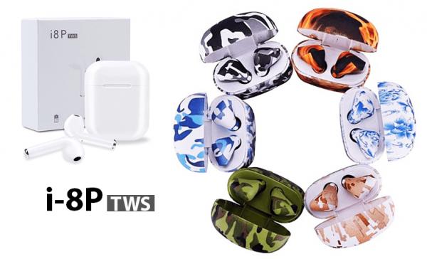 i8P tws Bluetooth слушалки со микрофон - НОВО!