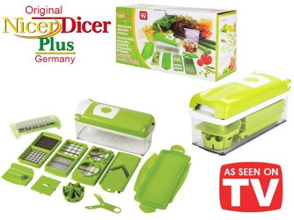 Nicer Dicer Plus сецко + 12 ултра остри ножеви