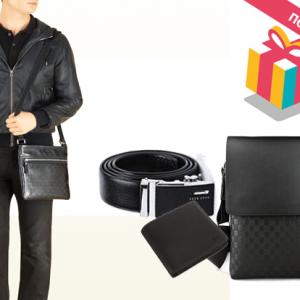 Ташничка, паричник и ремен од познати брендови