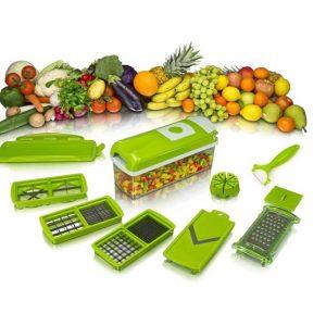 """""""Секундарен"""" сецко за овошје и зеленчук со 11 различни ножиња"""